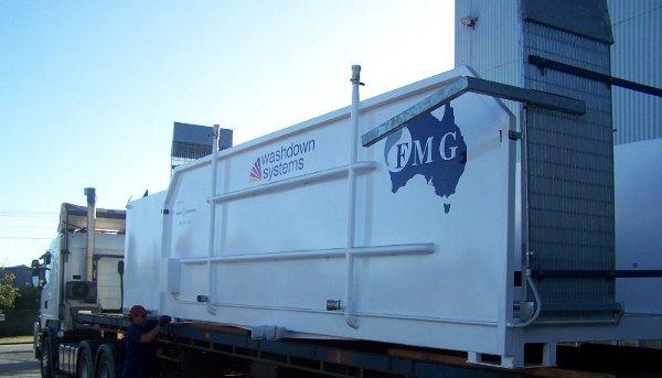 Steel Fabrication Cargo Baskets Wheel Wash Vehicle Wash